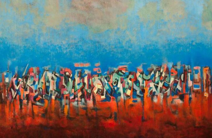Pittura Moderna Americana.Pittura D Azione E Colori A Campo L Espressionismo