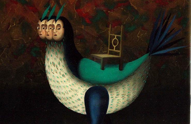 Marcelo suaznabar 1970 pittore surrealista lavorare for Nuove case coloniali